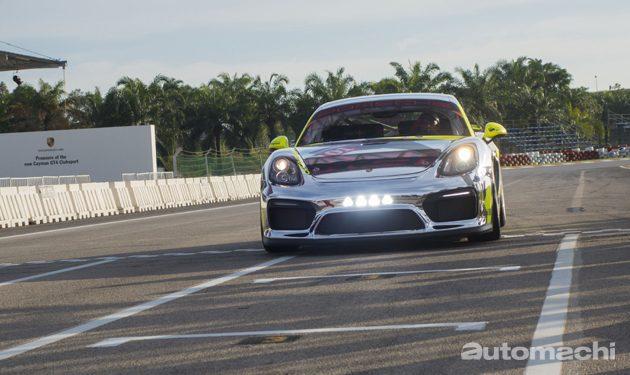 Porsche Cayman GT4 Clubsport 正式登陆大马!