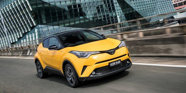 澳规 Toyota C-HR 价格公布!RM 92,107起跳!