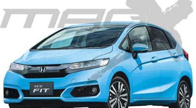 Honda Jazz Facelift 4月登场,搭载1.0 VTEC Turbo!