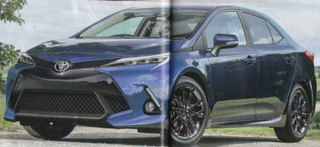 2018年现身! 全新 Toyota Corolla 细节曝光!