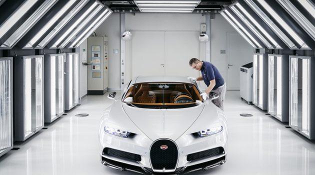地表最强! Bugatti Chiron 生产过程首次曝光!