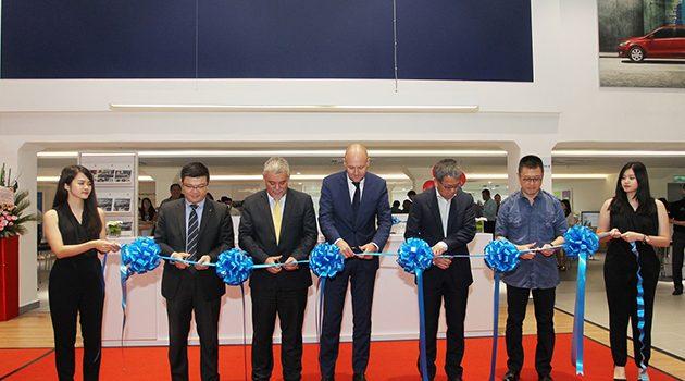 新街场 Volkswagen 新分行设派对与顾客同欢