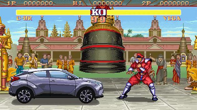 C-HR VS Street Fighter !潮流和经典的跨界合作!