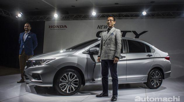 Honda City 2017 马来西亚首秀!