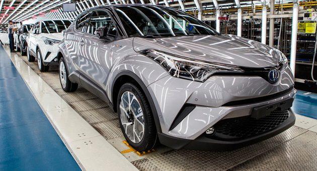 带你去看 Toyota C-HR 的生产线!