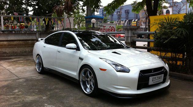神人改装! Nissan Teana 变身GTR!
