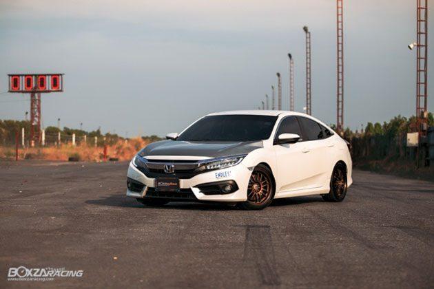 看看泰国的 Honda Civic FC 怎么改!