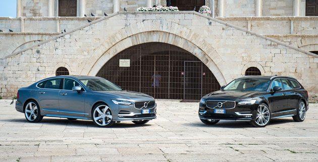 最安全房车来啦! Volvo S90 /V90 3月24我国发布!