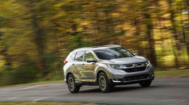 七人座,柴油, Honda CR-V 2018 预告释出!