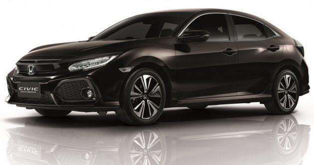 Honda Civic FC HB 正是在泰国开售!价格惊人!