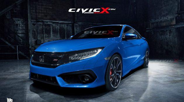 203马力! Honda Civic Si 正式现身!