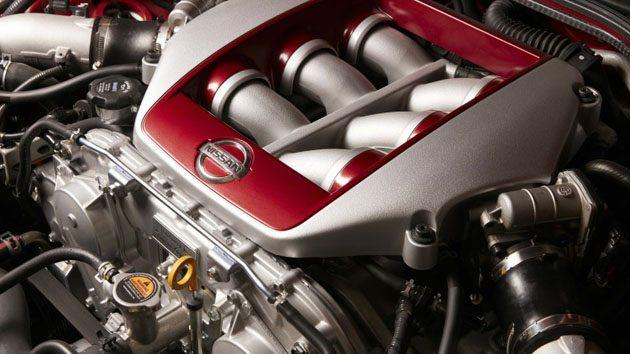 Nissan R36 细节曝光?3.0L V6 Twin Turbo引擎上身!