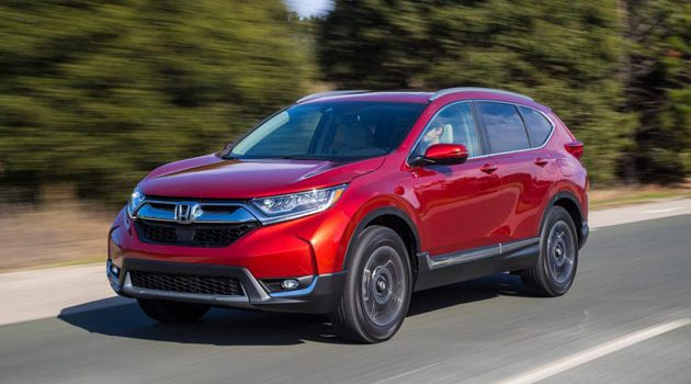 Honda CR-V 2017 最快6月我国市场上市!