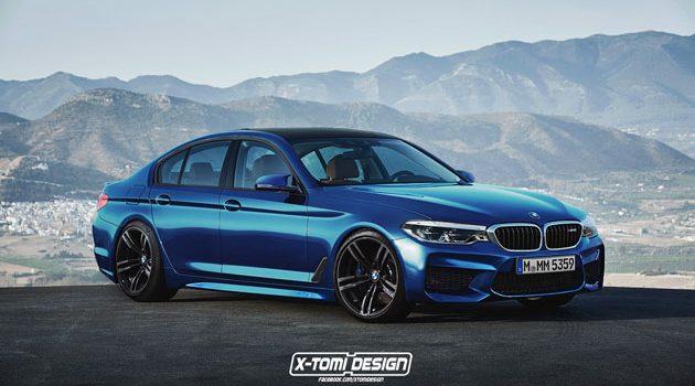 怪兽咆哮! BMW M5 2018 正式现身!