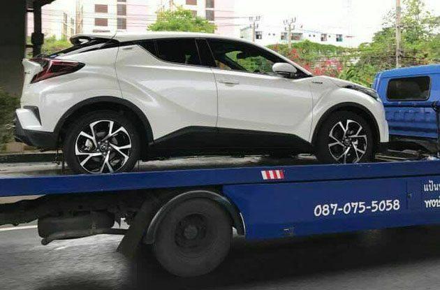 推出在即,东南亚量产版 Toyota C-HR 现身!