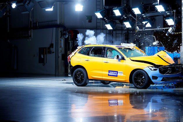 公路上的坦克? Volvo XC60 2018 撞击测试影片公布!