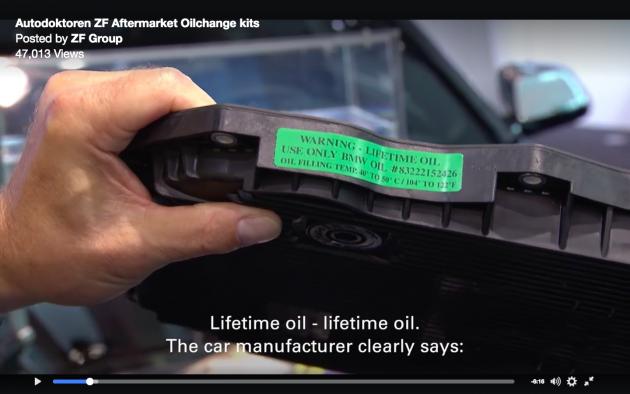 Gearbox Oil 真的终生不需更换吗?