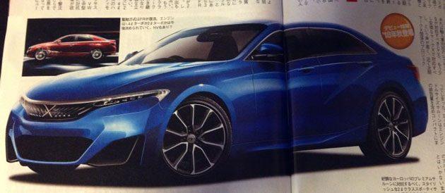 改搭1.5L Turbo! Toyota Mark-X 大改款或明年推出!