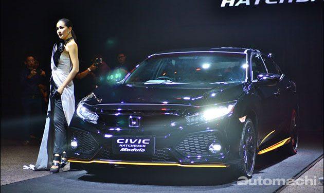 首次现身亚洲! Honda Civic HB 曼谷车展亮相!