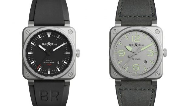Bell & Ross 推出 BR03-92 Horograph  和 BR03-92 Horolum 旅行爱好者的手表!