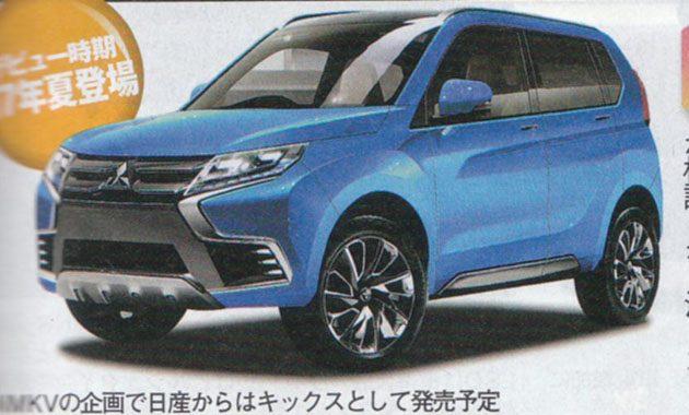 Mivec Turbo上身! Mitsubishi Pajero Mini 开发进行中!