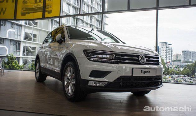 Volkswagen Tiguan 正式现身大马!详细规格确定!