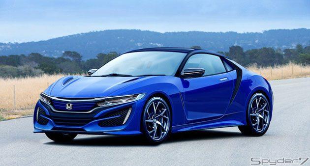Honda CR-Z (S1000)细节再曝光!或采用后驱设置!