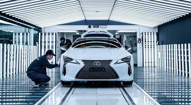 Lexus LC500 制造过程大公开(内附影片)!