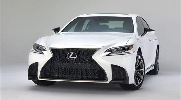 Lexus LS-F 2018年登场!最大马力突破600 ps!