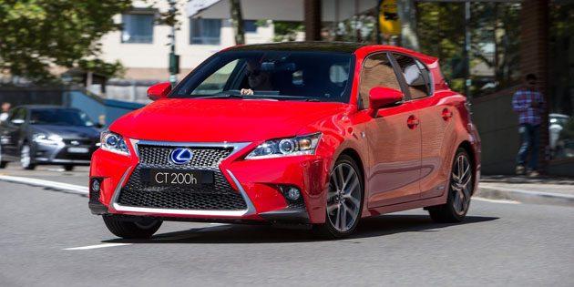 Lexus CT200h 大改款订于2019年推出,采用TNGA模组化平台!