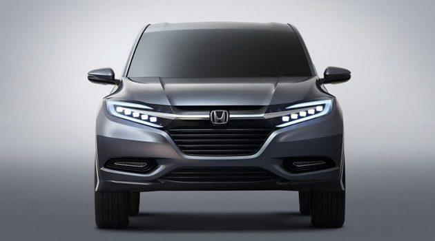 Honda HR-V 小改款将来临?6MT+1.0 VTEC Turbo!