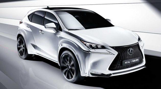 Lexus NX 小改款将登场!或搭8速自排?
