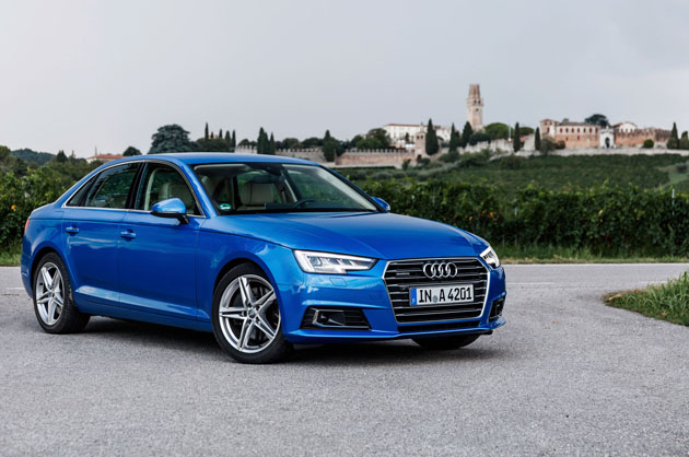 2017 Audi A4 Front Side View With Scenery Automachi Com