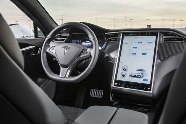 2017 Tesla Model S P100d Interior 02 Automachi Com