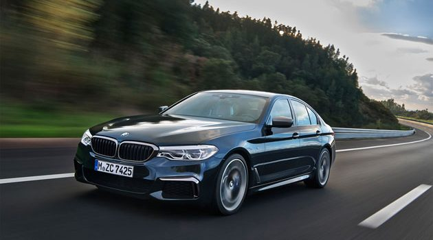 BMW M550d xDrive 登场,采用4涡轮柴油引擎!