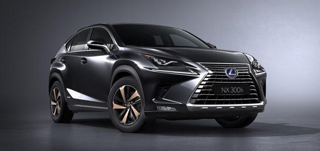 Lexus NX 2018 小改款发布,颜值爆表!