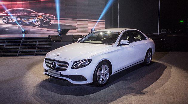 Mercedes-Benz E-Class CKD 正式登场,价格从RM 348,888起跳!
