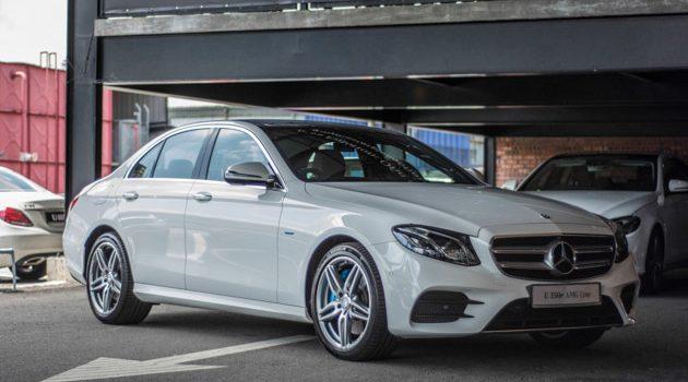 Mercedes-Benz E350e 大马首秀!油耗仅2.1L/100km!