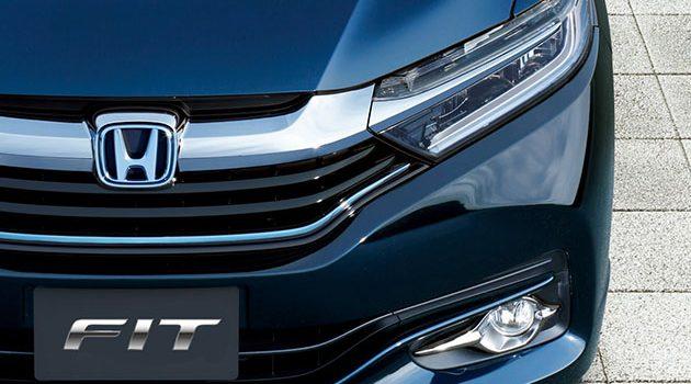 Honda Fit 小改款首次现身!1.0L VTEC Turbo上身!