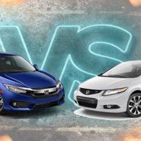 Civic VS Civic ,自然进气对战涡轮增压谁会胜出?