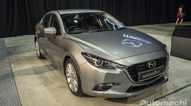 Mazda3 2017 正式登陆大马,价格从RM 113,598.79起跳!