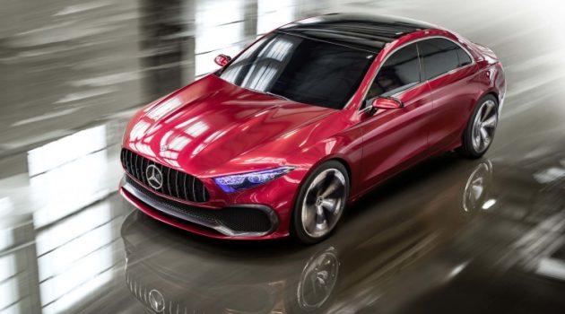 Mercedes-Benz Concept A Sedan 发表!A Class Sedan的雏形!