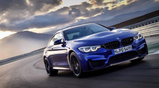 BMW M4 CS 发表!马力飙破450 hp大关!