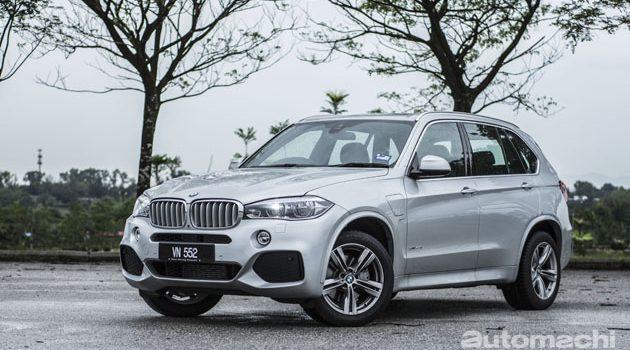 PHEV是未来, BMW X5e 动力满满!