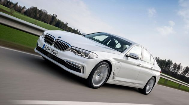 BMW 530e iPerformance 正式发表,油耗仅1.9L/100 km!