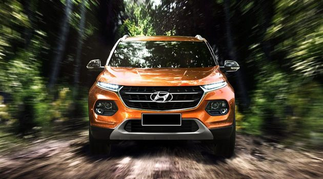 Hyundai Kona ,指名挑战HR-V!