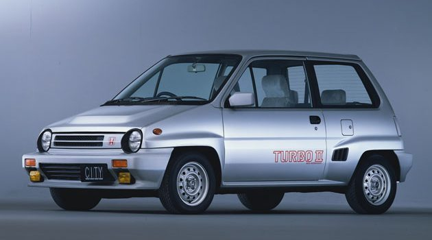Honda City turbo :Honda第一个涡轮车款!