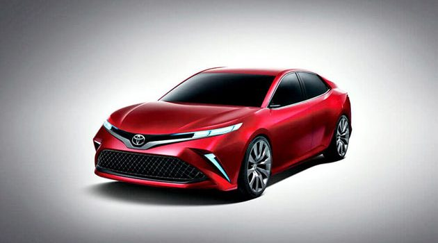 Toyota Camry 亚洲版现身?全新设计更具跑风!