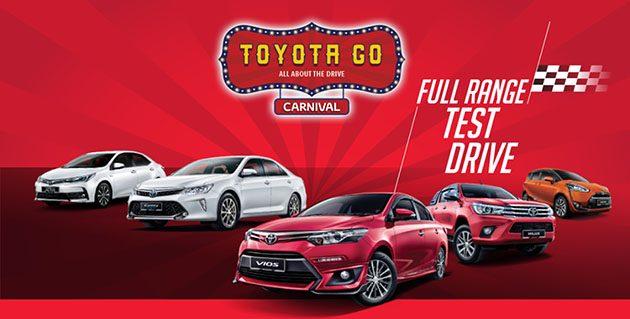 Toyota Go Carnival ,让你体验丰田车款的魅力!