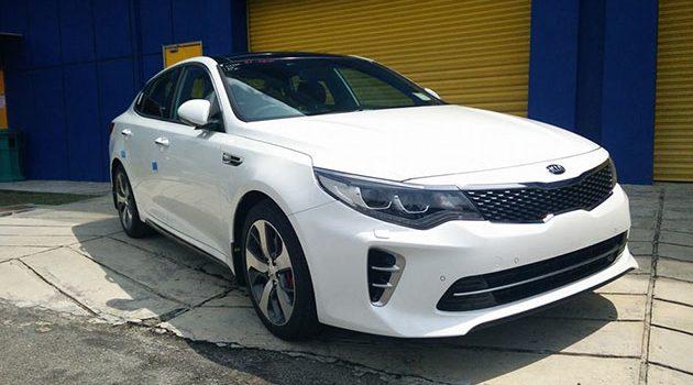 Kia Optima GT 正式现身我国,预计售价17万令吉!